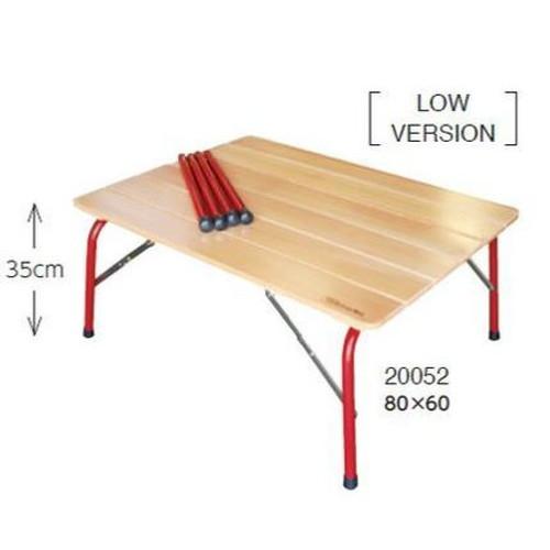 (HIGHMOUNT)ハイマウント ハイ&ロー キャンパーテーブル 80×60