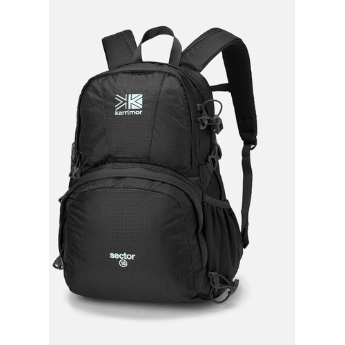 (karrimor)カリマー セクター 18 ブラック | リュック 大容量 メンズ レディース バックパック ザック キャンプ アウトドア 登山 トレッキング 旅行 通学 通勤 おしゃれ