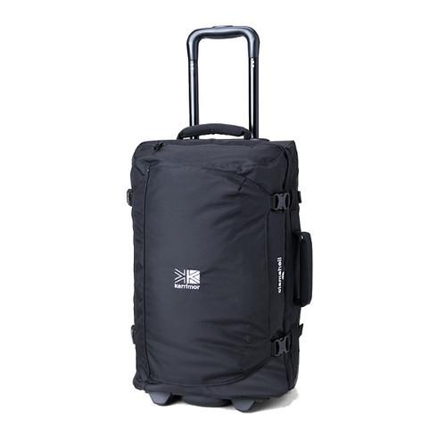 (karrimor)カリマー キャリーバッグ クラムシェル 40 ブラック|キャリー ケース メンズ バッグ バック キャリーバック 旅行バッグ 卒業旅行 キャリーケース 旅行カバン スーツケース ソフト ソフトキャリー フロントポケット アウトドアブランド 40l アウトドア 黒