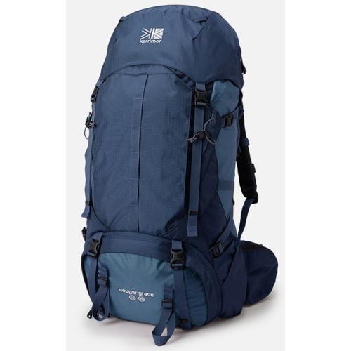(karrimor)カリマー クーガーグレース 55-70 ネイビー | リュック 大容量 メンズ レディース バックパック ザック キャンプ アウトドア 登山 トレッキング 旅行 おしゃれ