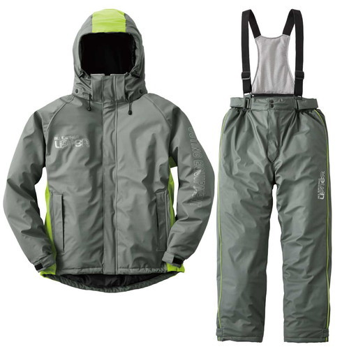 (LOGOS)ロゴス 油に強い防水防寒スーツ サーレ (21グレー) LL