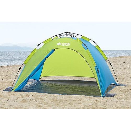(LOGOS)ロゴス Q-TOP フルシェード 200 | アウトドア アウトドア用品 アウトドアー 用品 アウトドアグッズ キャンプ キャンプ用品 テント おしゃれ 簡単テント bbq 海 海水浴 ビーチテント ビーチ ドームテント バーベキュー ピクニック ファミリー ファミリーテント てんと