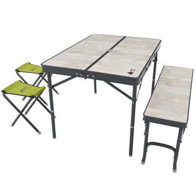 (LOGOS)ロゴス ROSY ファミリーベンチテーブルセット