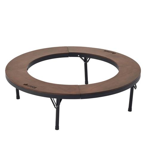 (LOGOS)ロゴス アイアンウッド囲炉裏サークルテーブルL