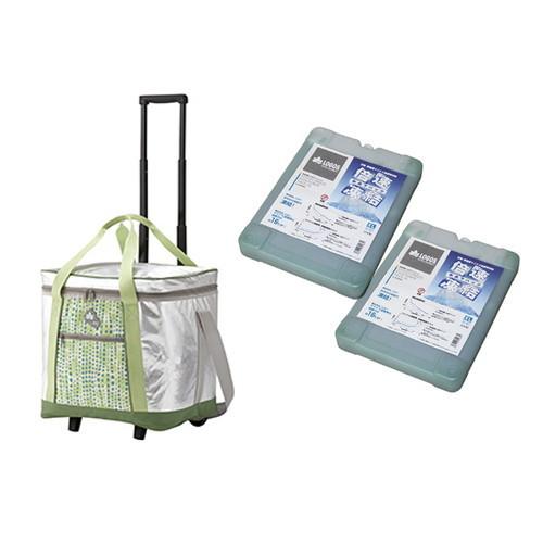(LOGOS)ロゴス insul10 キャリークーラー35X (氷点下パックXL4対応)+倍速凍結・氷点下パックXL×2お買い得3点セット |キャンプ用品 アウトドア用品 アウトドアグッズ グッズ キャンプ アウトドア キャスター キャリー 便利 保冷剤 保冷パック 保冷材 クーラーバック 長時間