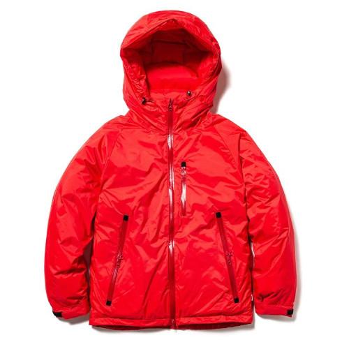 (NANGA)ナンガ ナンガ オーロラダウンジャケット (RED) S | ダウンジャケット メンズ 防寒着 ダウン ジャケット アウター 登山 キャンプ 撥水 秋冬 暖かい アウトドア ブランド おしゃれ