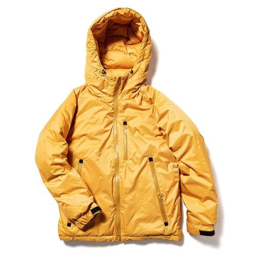 ナンガ オーロラダウンジャケット (YEL) S | ダウンジャケット メンズ 防寒着 ダウン ジャケット アウター 登山 キャンプ 撥水 秋冬 暖かい アウトドア ブランド おしゃれ
