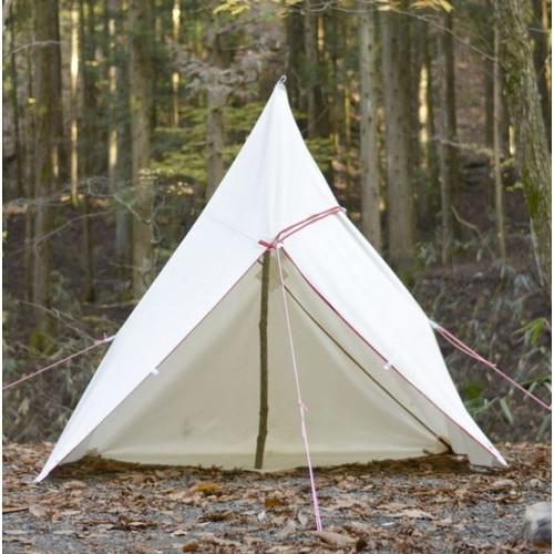 (Bush Craft)ブッシュクラフト たき火タープ 3×3 | アウトドア キャンプ アウトドア用品 キャンプ用品 キャンプグッズ アウトドアグッズ おしゃれ バーベキュー bbq 日よけ 日除け シェード サンシェード タープ タープテント