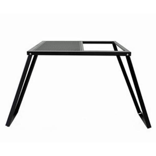 (auvil)オーヴィル ガーデンマルチテーブル | テーブル 折りたたみ コンパクト 黒 ブラック キャンプ アウトドア BBQ バーベキュー おしゃれ