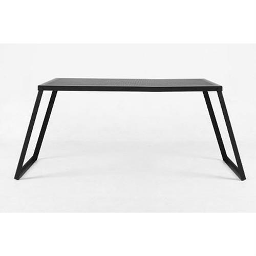 (auvil)オーヴィル ガーデンワイドテーブル | テーブル 折りたたみ コンパクト 黒 ブラック キャンプ アウトドア BBQ バーベキュー おしゃれ