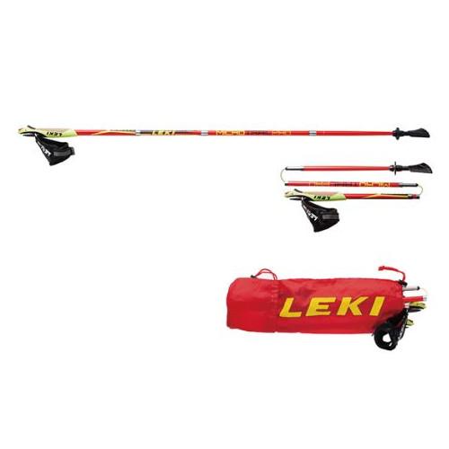 (LEKI)レキ マイクロマジック (220レッド) 105cm