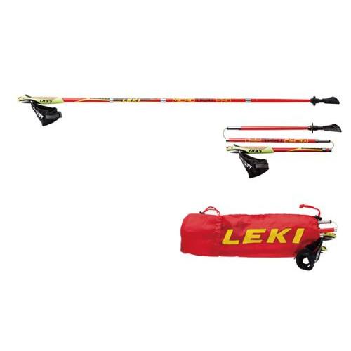 (LEKI)レキ マイクロマジック (220レッド) 115cm