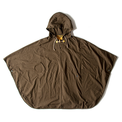 (GRIP SWANY)グリップスワニー ファイアーポンチョ (オリーブ)  ポンチョ アウター 焚火ウェア 焚き火 アウトドア アウトドア用品 アウトドアグッズ キャンプ キャンプ用品 おしゃれ