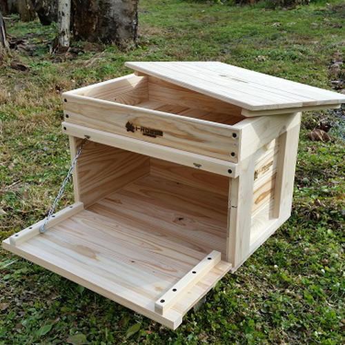 (i-Rbase)アイアールベースプロダクト STACK収納BOX free-woodcover