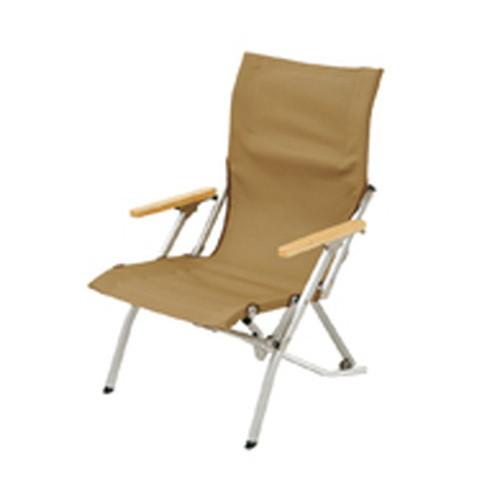 (snow peak)スノーピーク ローチェア30 カーキ LV-090KH(後継品LV-091) | チェア 折りたたみ コンパクト ローチェア 椅子 イス キャンプ アウトドア バーベキュー 焚火 登山 トレッキング フェス キャンプ用品 便利 おしゃれ