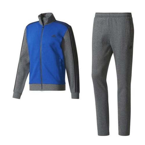 (adidas)アディダス トレーニングウェア 3ストライプス スウェットスーツ (裏起毛) ジャケット パンツ カレッジロイヤル O