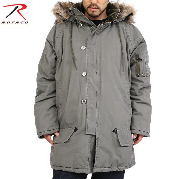 ROTHCO ロスコ VINTAGE N-3B フライトジャケット 【品番:9467】 全体にヴィンテージ加工を施し 長年着込んだ雰囲気を再現 中綿入りで完璧な防寒性を誇ります《WIP03》