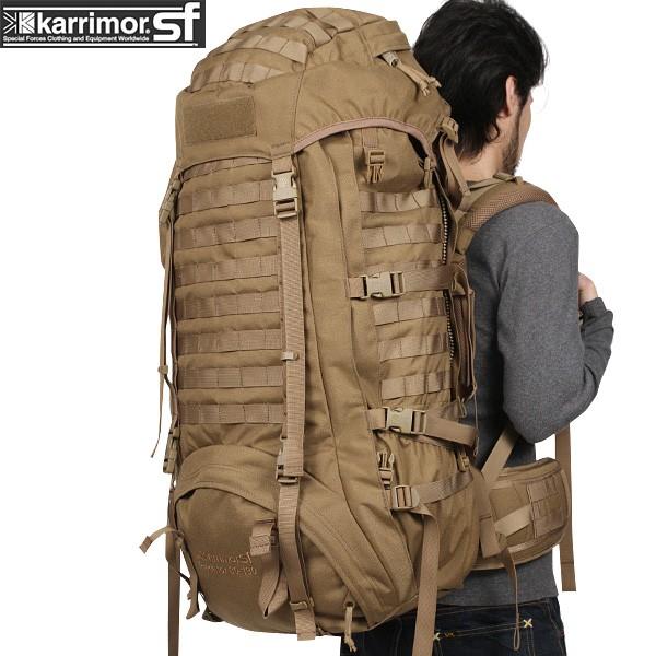 【15%OFFクーポン対象】karrimor SF カリマースペシャルフォース Predator 80-130 バッグパック COYOTE 【Predator 80-130】 karrimor SF フラッグシップモデル《WIP03》【Sx】