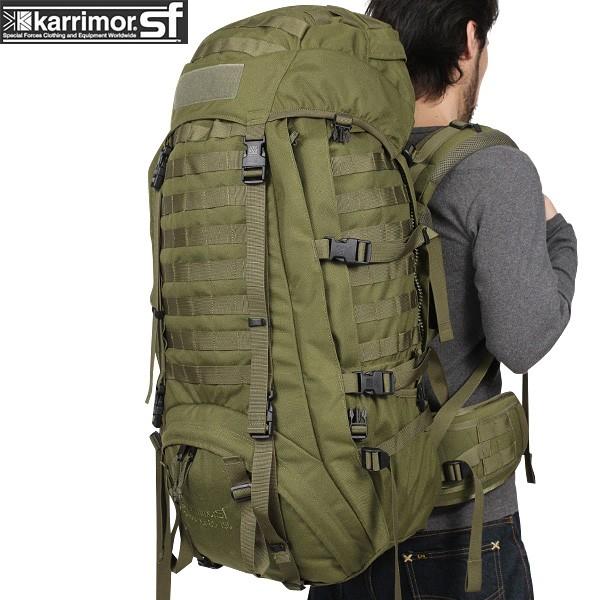 【15%OFFクーポン対象】karrimor SF カリマースペシャルフォース Predator 80-130 バッグパック OLIVE 【Predator 80-130】 karrimor SF フラッグシップモデル【WIP03】