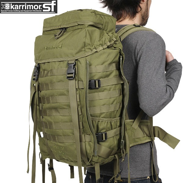 karrimor SF カリマー スペシャルフォース Predator Patrol 45 バッグパック OLIVE 【Predator Patrol 45】 【Sx】イギリス軍採用モデル《WIP03》pd