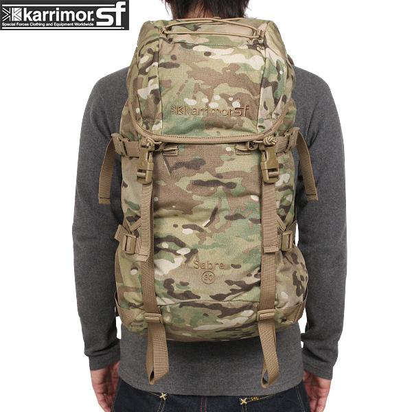 【15%OFFクーポン対象】karrimor SF カリマー スペシャルフォース Sabre 30 バッグパック Multicam 【Sabre 30】 セイバー30 軽量で実用的な設計のバッグパック 【WIP03】pd