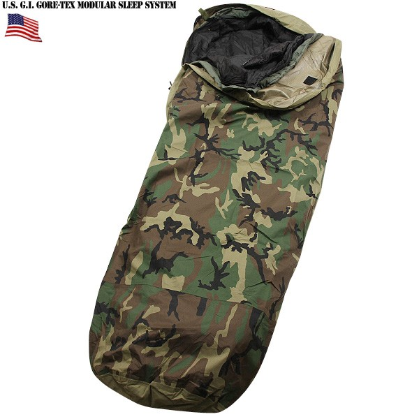 In Real New Military Gore Tex Improved Modular Sleeping Bag System Woodland Camo For All