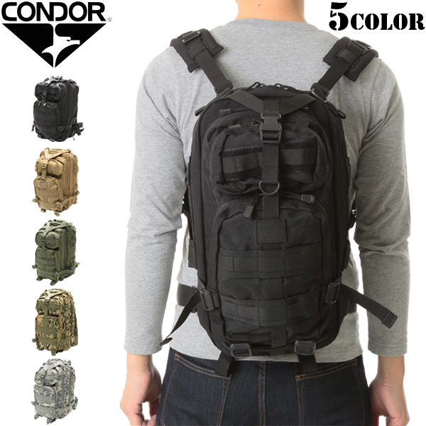 86cc887683d3 CONDOR Condor 126 compact assault backpack 5 colors to suit extended  capacity and features can be very easy to use good tactical bag