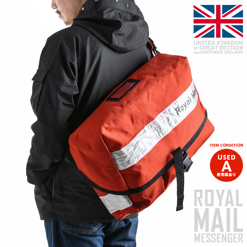 Military select shop WAIPER  The State-owned company Royal Mail plays in  the actual British ROYAL MAIL Messenger bag white reflector United Kingdom  postal ... 45ff6d296590c