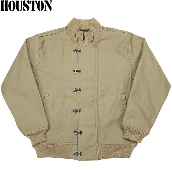HOUSTON ヒューストン U.S.NAVY N-10デッキジャケット TAN 【5N-10FMOD】