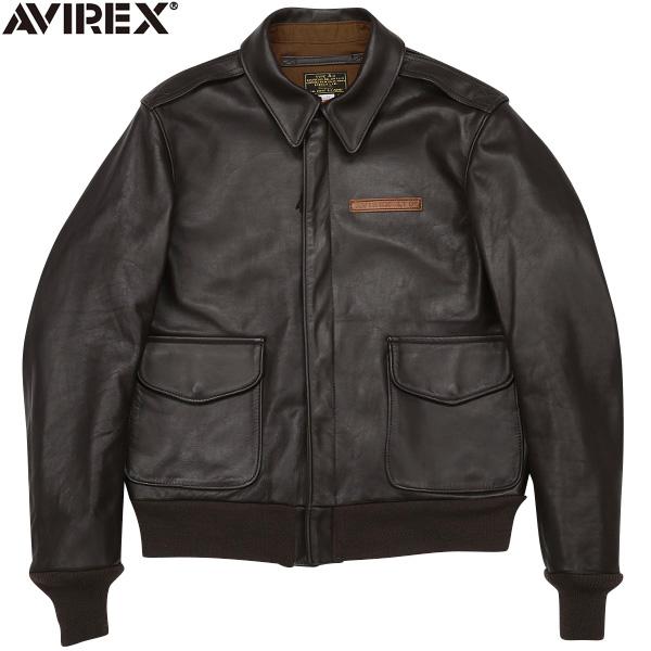 AVIREX アビレックス 2191000 MADE IN USA(米国製)A-2レザーフライトジャケット 《WIP03》【クーポン対象外】