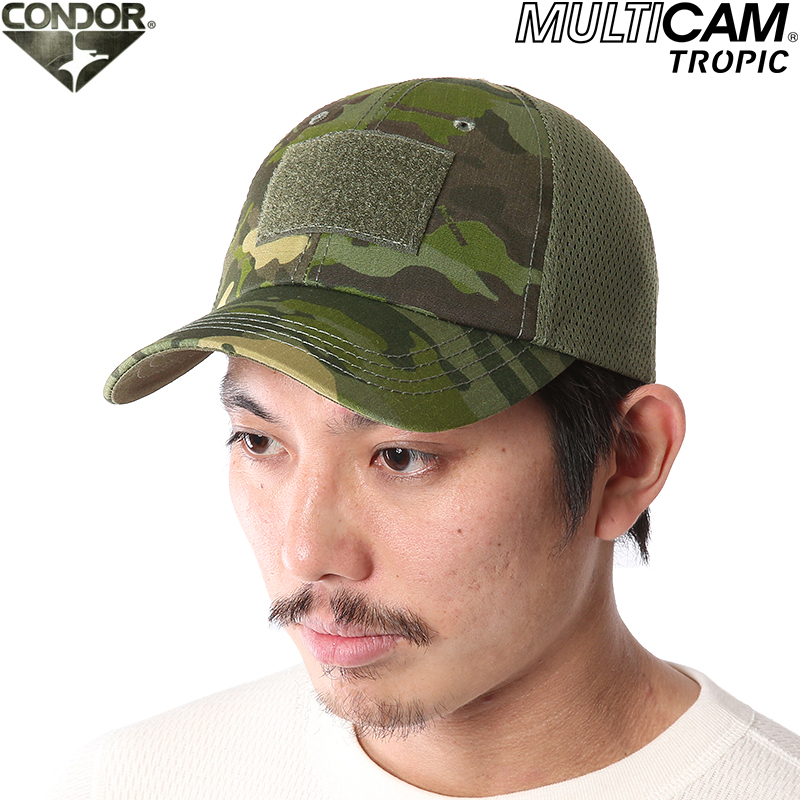 Developed a CONDOR Condor mesh tactical team Cap MultiCam Tropic Crye  Precision's MultiCam camouflage rain forests, forest-friendly pattern  vaguely