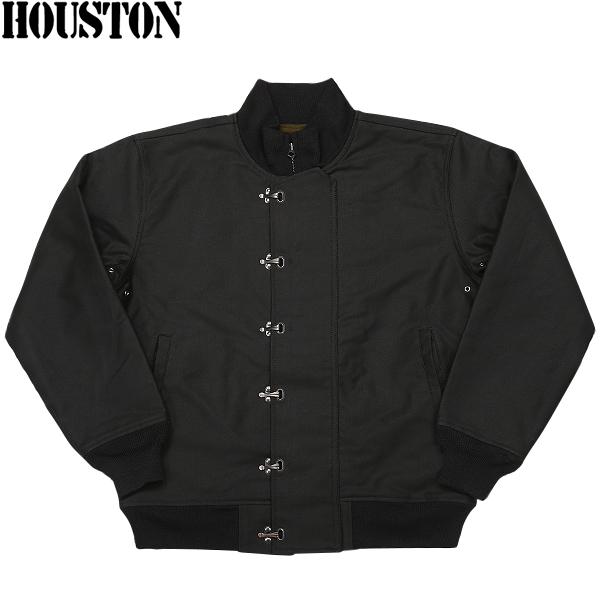 HOUSTON ヒューストン U.S.NAVY N-10デッキジャケット BLACK 【5N-10FMOD】