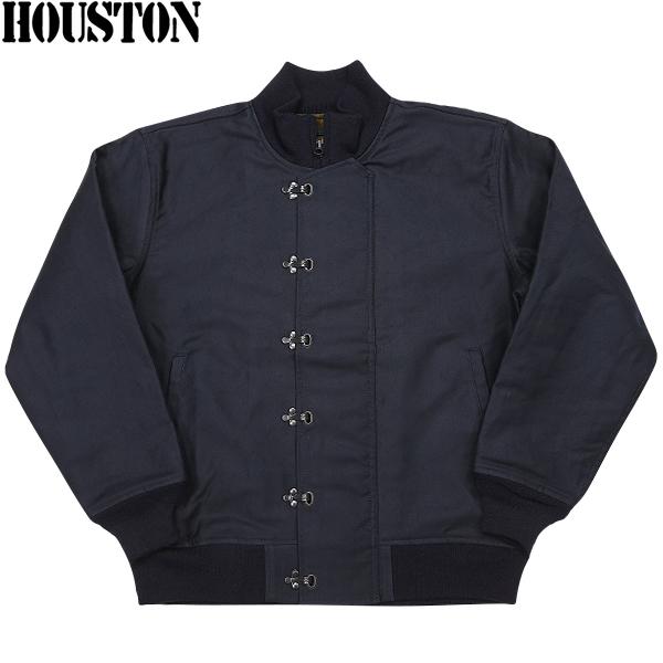 HOUSTON ヒューストン U.S.NAVY N-10デッキジャケット NAVY 【5N-10FMOD】 《WIP》 ミリタリー 秋 冬 春 ギフト プレゼント20