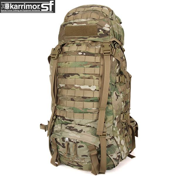 【15%OFFクーポン対象】karrimor SF カリマー スペシャルフォース Predator 80-130 バッグパック Multicam【Predator 80-130】 karrimor SF フラッグシップモデルで 長期行動が可能な大容量バックパック《WIP03》【Sx】