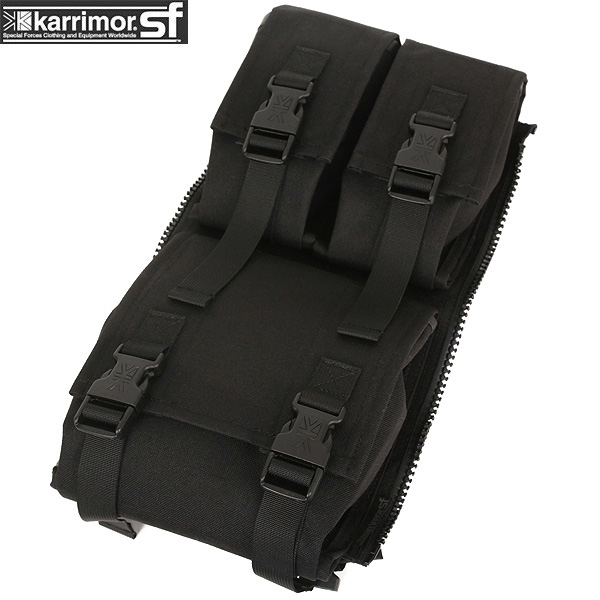 【15%OFFクーポン対象】karrimor SF カリマー スペシャルフォースAmmo Omni Side pocket BLACK イギリス軍個人装備 「PLCE」互換の増設用サイドポケット 最新の素材と技術で応えています【WIP03】pd