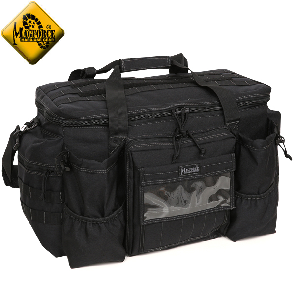 【店内20%OFFセール開催中】MAGFORCE マグフォース MF-0615 Centurion Patrol Bag Black メインコンパートメントはジッパーで大きく開く事が可能 耐久テストを何度も繰り返し製品化 実用性を重視したデザイン、設計されてあります