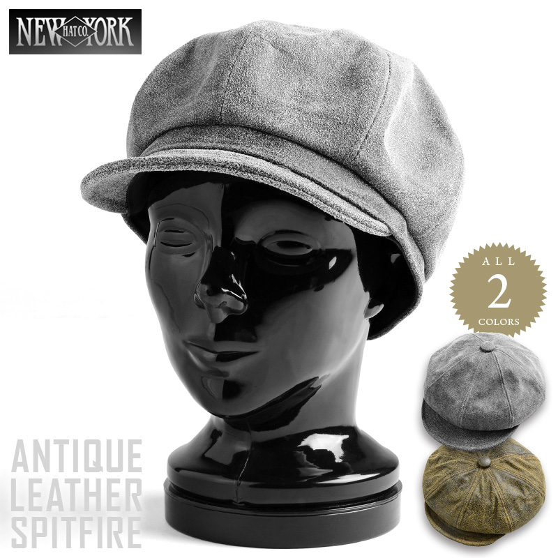 2b52021d7a8f2 The finish << WIP03 >> with the antiqued suede leather atmosphere of the  feel peculiar to two colors of New York Hat New York hat ANTIQUE LEATHER ...