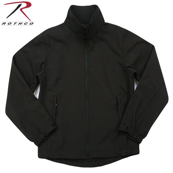ROTHCO ロスコ 9834 Tactical Uniform ソフトシェルジャケット BLACK レイヤリングに欠かせないソフトシェルジャケット 三層構造で軽量・透湿・防水に優れたポリエステル100% 高いコストパフォーマンスが非常に魅力的です《WIP03》