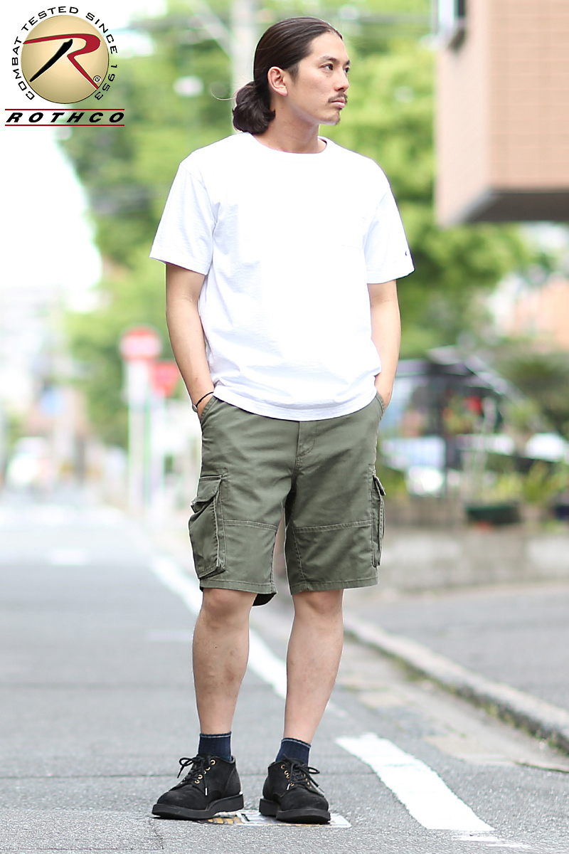 853fecfaea ... A feeling of cargo short pants wearing reflecting the image of ROTHCO  Roscoe VINTAGE PARATROOPER cargo