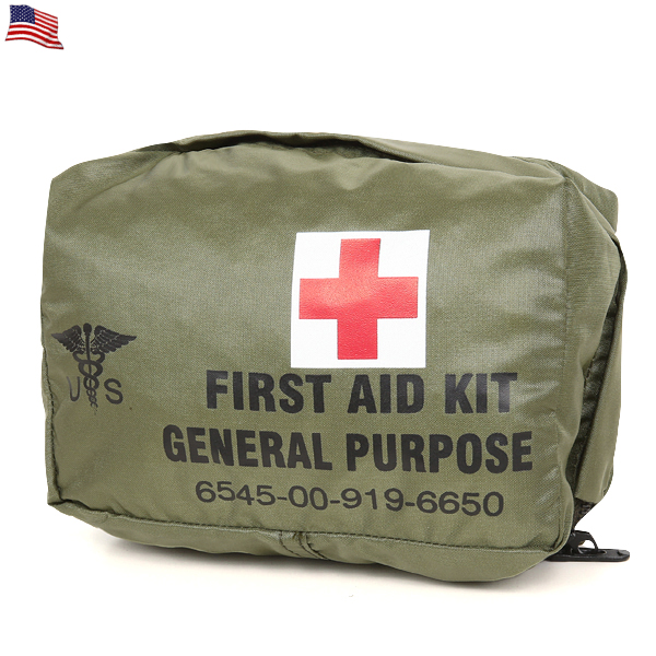 Real thing new article U S  forces FIRST AID KIT GENERAL PURPOSE porch <<  WIP03 >>