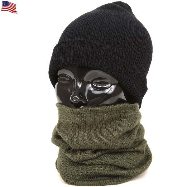 Real brand new US Army wool tube scarf ( neckwalmer ) tube type winter wool  scarf down intact and as a neck warmer that can feel even better featured  ... 6a984c65585