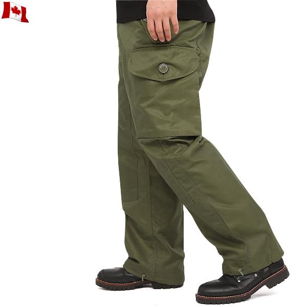 真正的品牌新的加拿大軍事風吹過褲子刷卡插槽按鈕罕見加拿大說加高度評價從體裁的非軍事專案