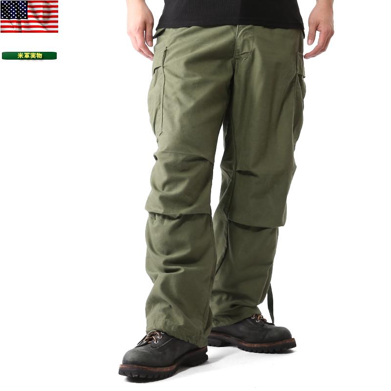 実物 米軍 M-65 フィールドカーゴ パンツ USED 【クーポン対象外】