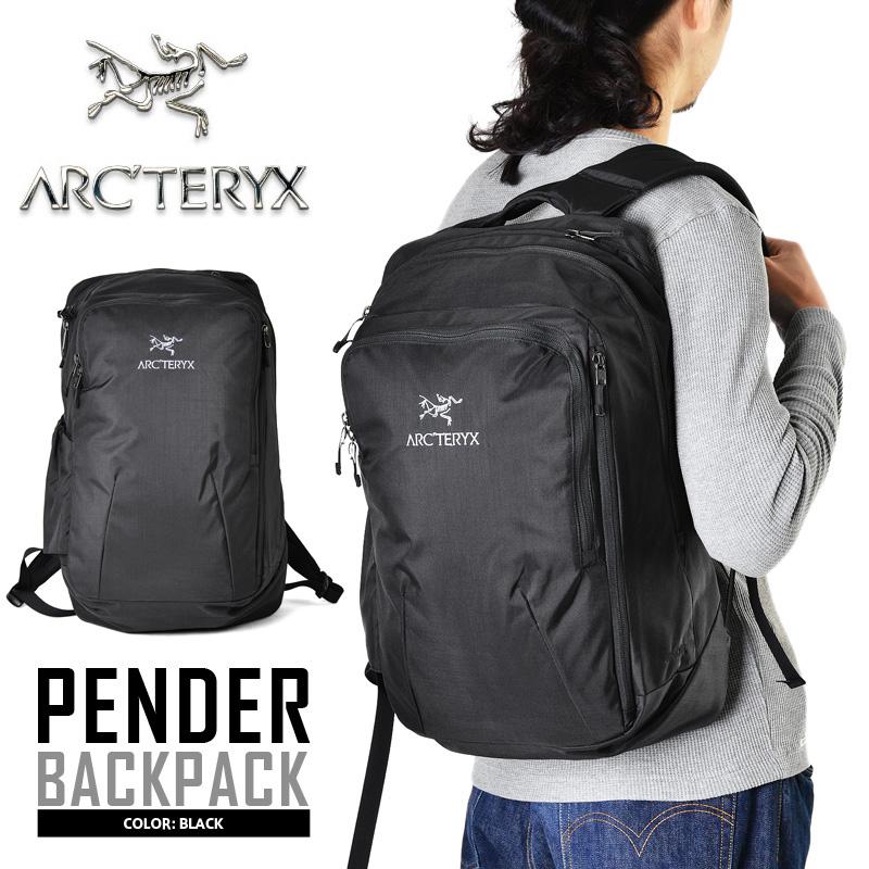 0ace3d7dc1b ARC ' TERYX Arc'Teryx PENDER backpack BLACK outdoor back pack men's women's  backpack nylon ...
