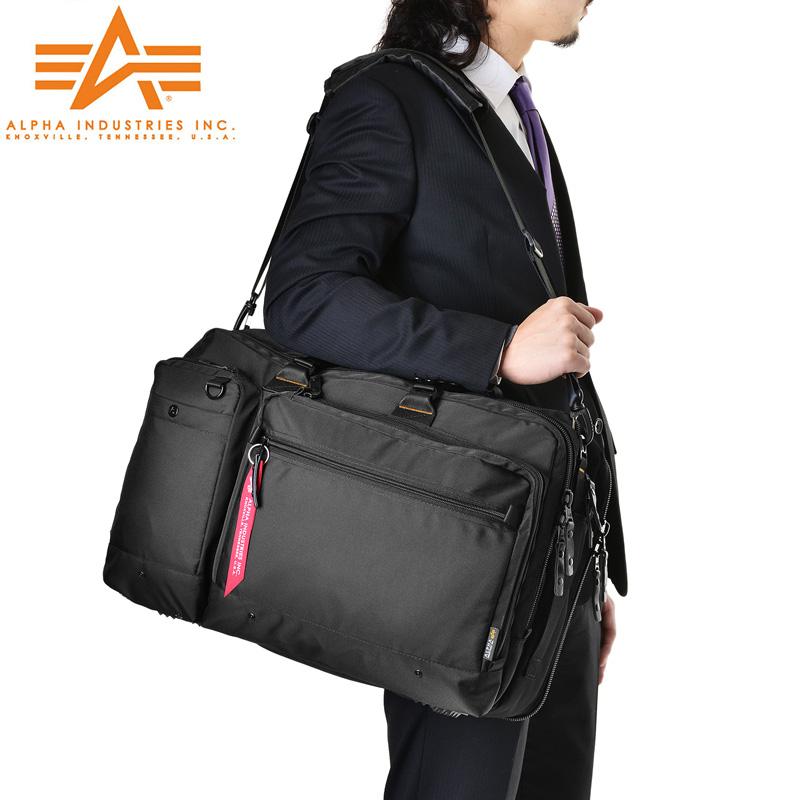 ALPHA アルファ 0495400 PC/タブレット対応 多機能 3WAY ガーメント ビジネスバッグ / WIP03【Sx】