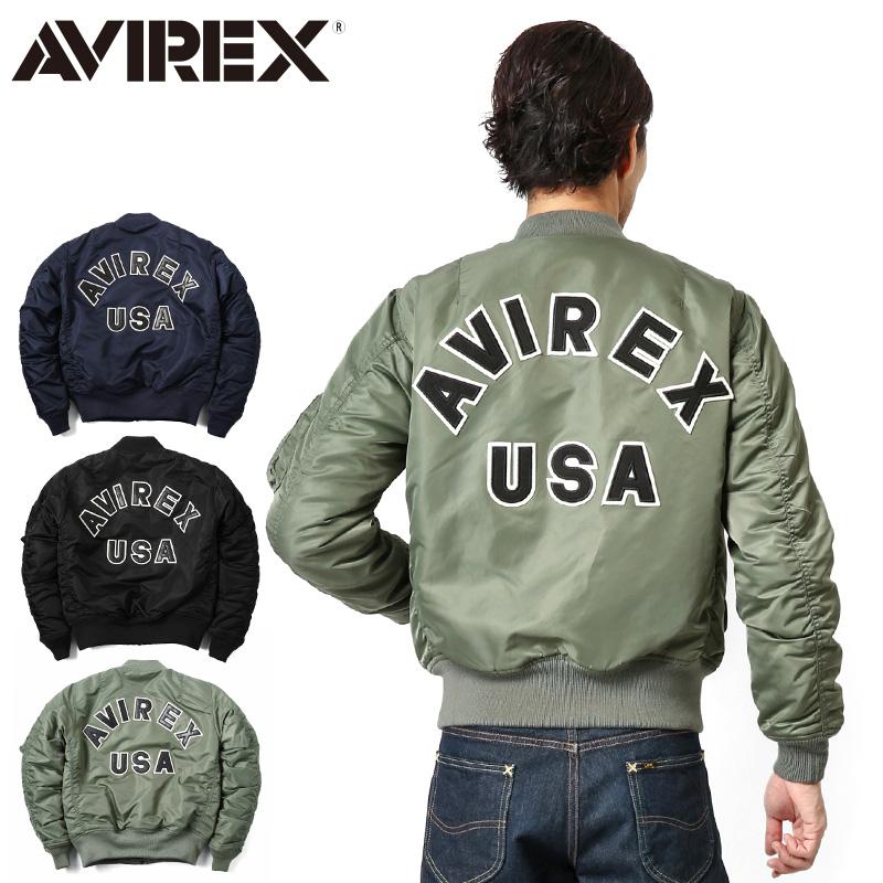 【送料無料】AVIREX アビレックス MA-1 CM LOGO MIL.-J-8279E フライトジャケット【6162164】ミリタリージャケット フライトジャケット AVIREX アビレックス ミリタリーショップ メンズ【クーポン対象外】