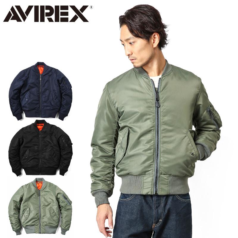 【送料無料】AVIREX アビレックス MA-1 CM MIL-J-8279E フライトジャケット【6132077】 ミリタリージャケット フライトジャケット AVIREX アビレックス ミリタリーショップ メンズ【クーポン対象外】