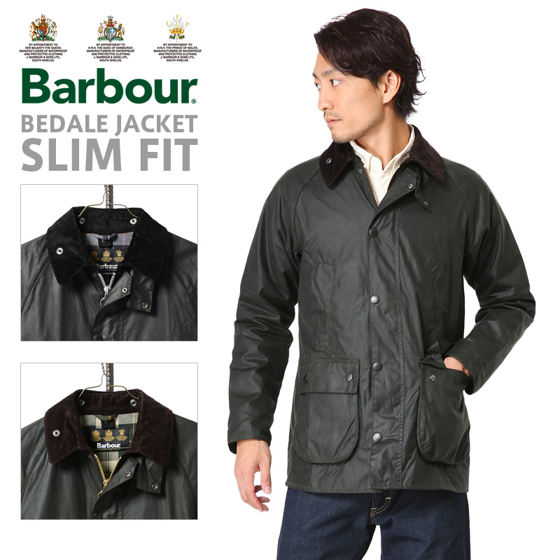 【店内20%OFFセール開催中】Barbour MWX0318 バブアー BEDALE SL ビデイル ジャケット スリムフィット《WIP03》