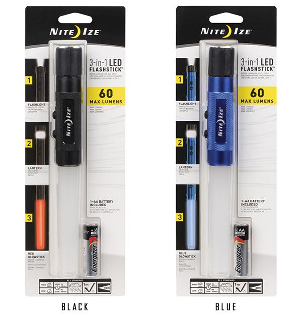 15%OFFクーポン対象!NITE IZE ナイトアイズ 3-IN-1 LED MINI FLASHSTICK ミニフラッシュスティック