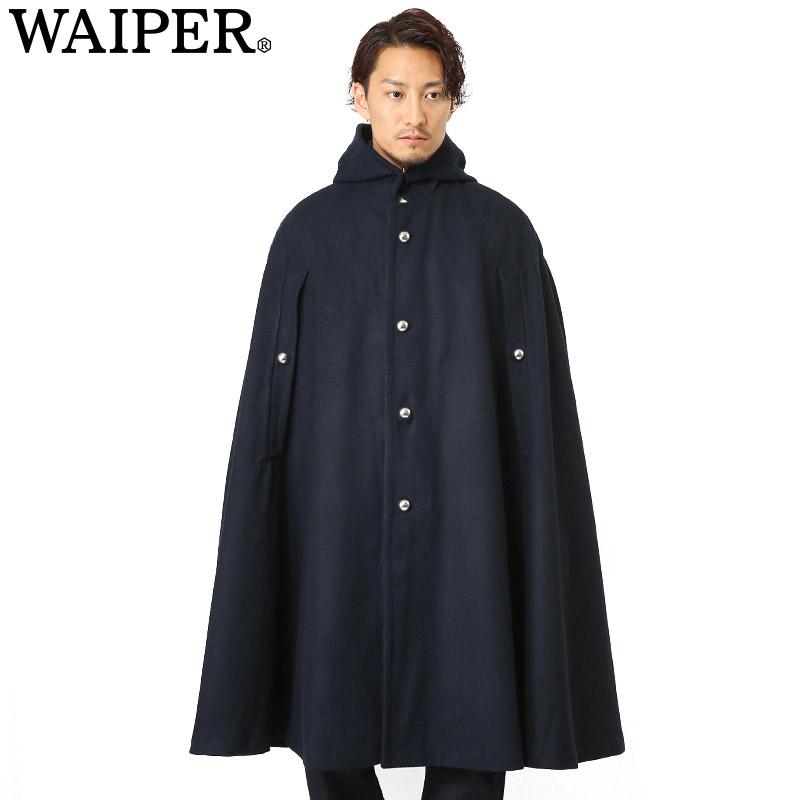 新品 フランス軍ウールケープ (マント ポンチョ)【WP09】 WAIPER.inc 《WIP03》【Sx】